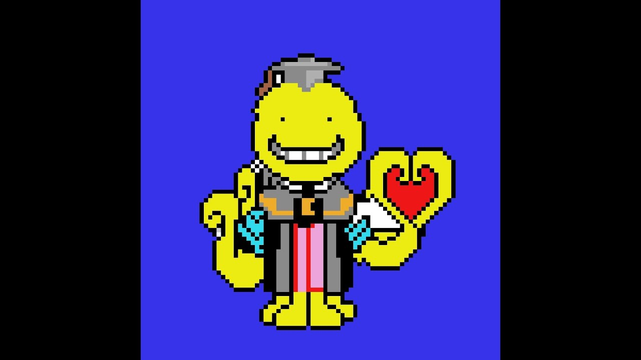 Pixel Art of Koro Sensei | Anime | Assassination Classroom | Pixel Art | by- PiXel WoRld🔥