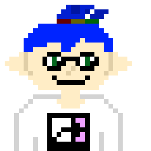 I Made Splatoon Pixel Art With References Which Is Your