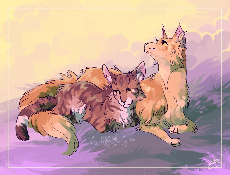 Картинки листвичка из котов воителей