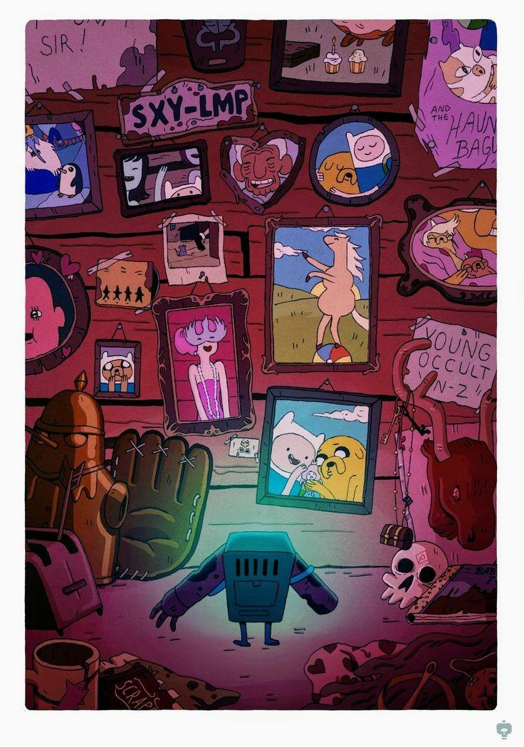 I'm sad Adventure Time ended 💓💔