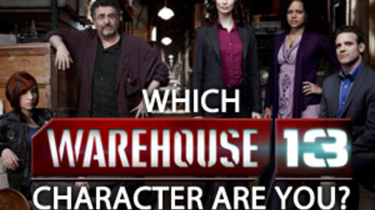 Which Warehouse 13 Character Are You?