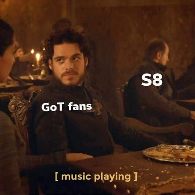 Amid our Fandom's discussion on the Red Wedding, I found this on Instagram.