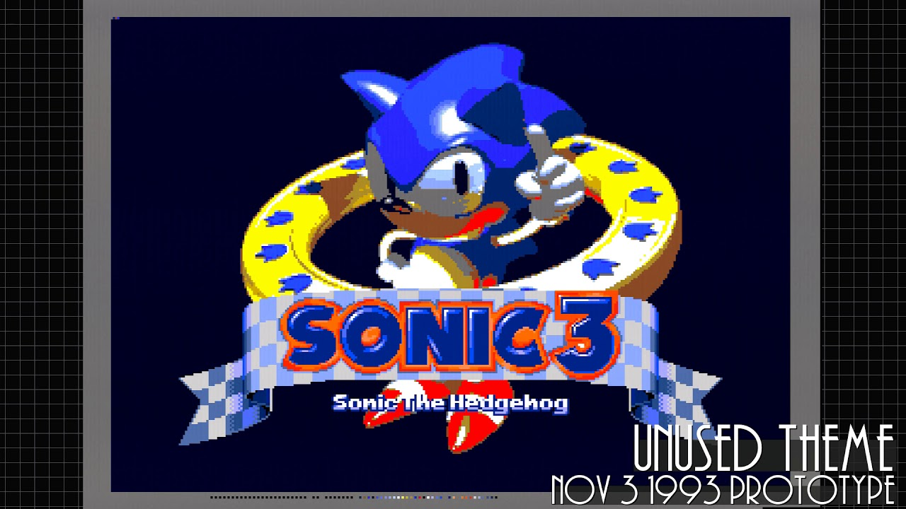 Unused Theme - Sonic 3 (Nov 3 1993 Prototype)