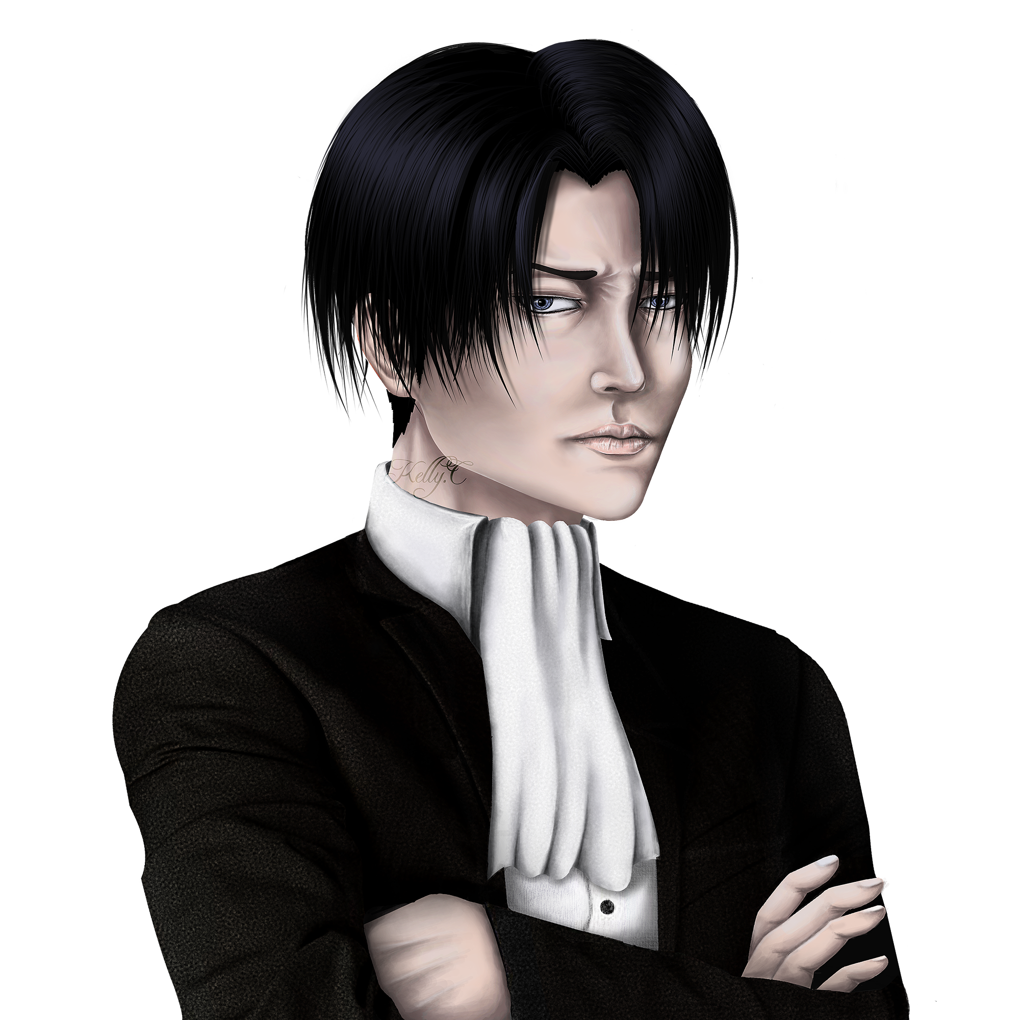 Levi ackerman Final Result! I love this guy!!!