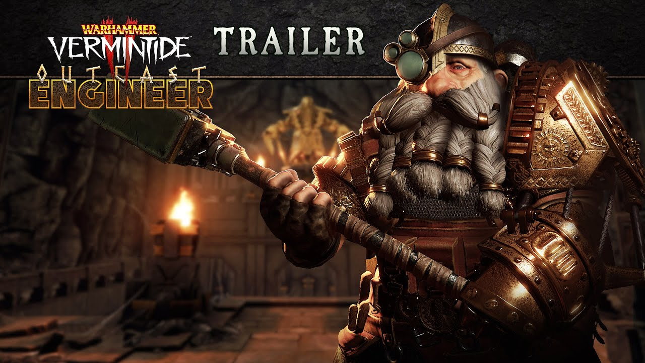 Warhammer: Vermintide 2 - Outcast Engineer Career | Official Trailer