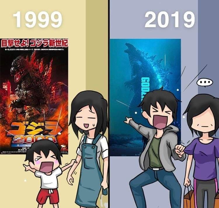 Pregunta Cuáles películas de Godzilla an visto?