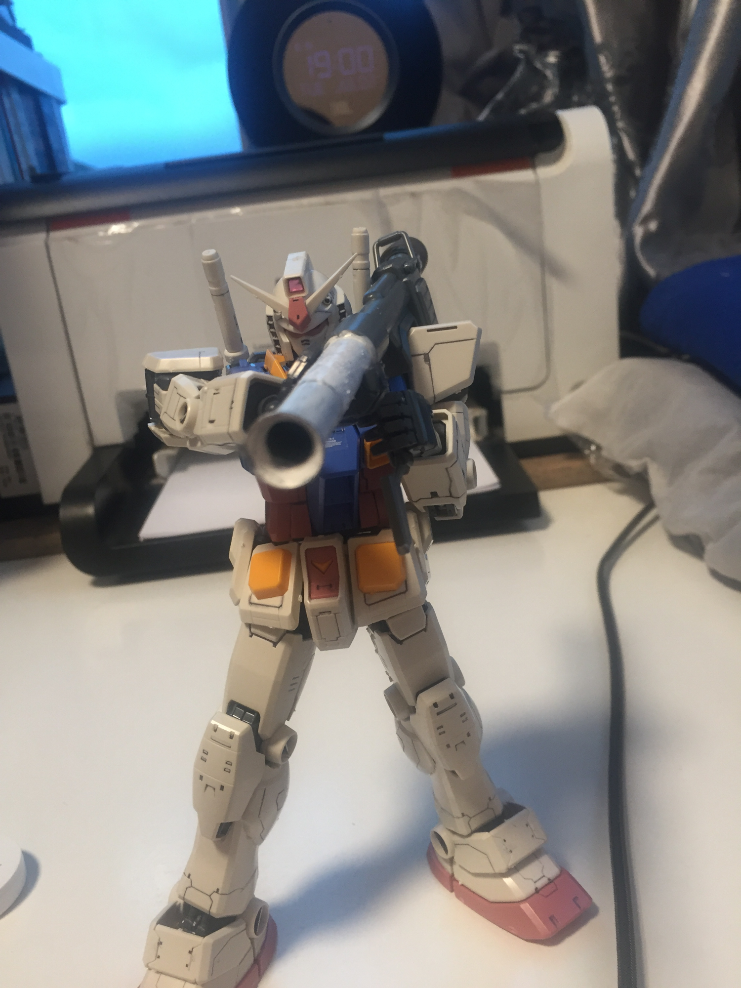 Finished my mg rx-78-2 gundam . What mg should I buy next