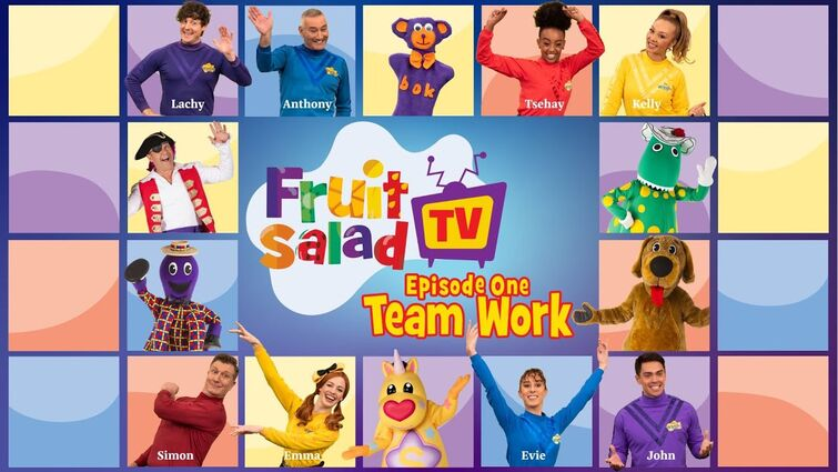 The Wiggles: Fruit Salad TV   Episode 1: Team Work   Songs and Nursery Rhymes for Kids