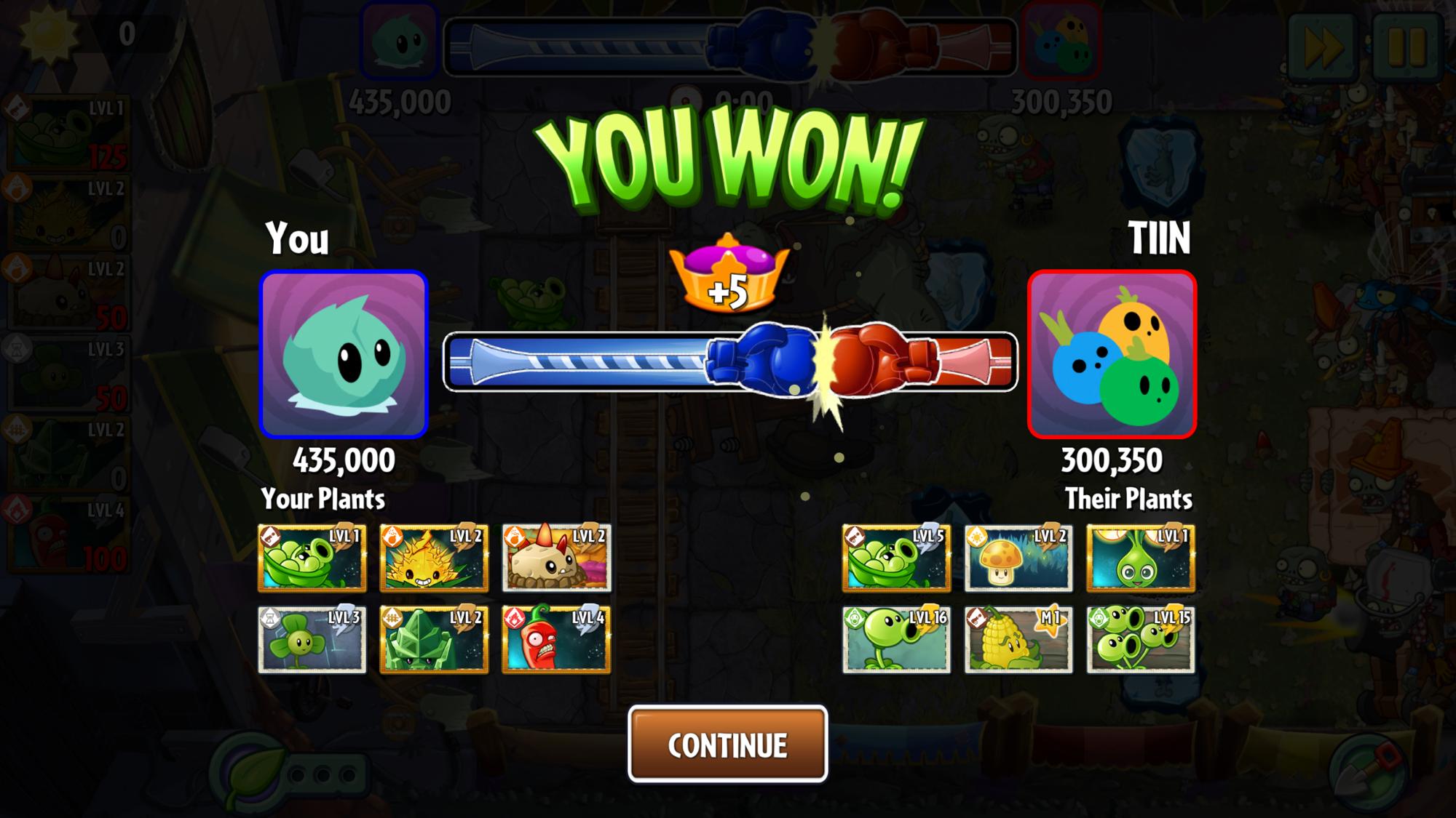 I beat someone