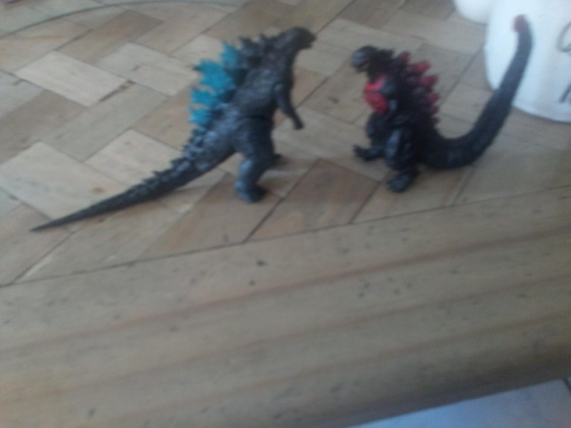 Godzilla legendary vs shin godzilla