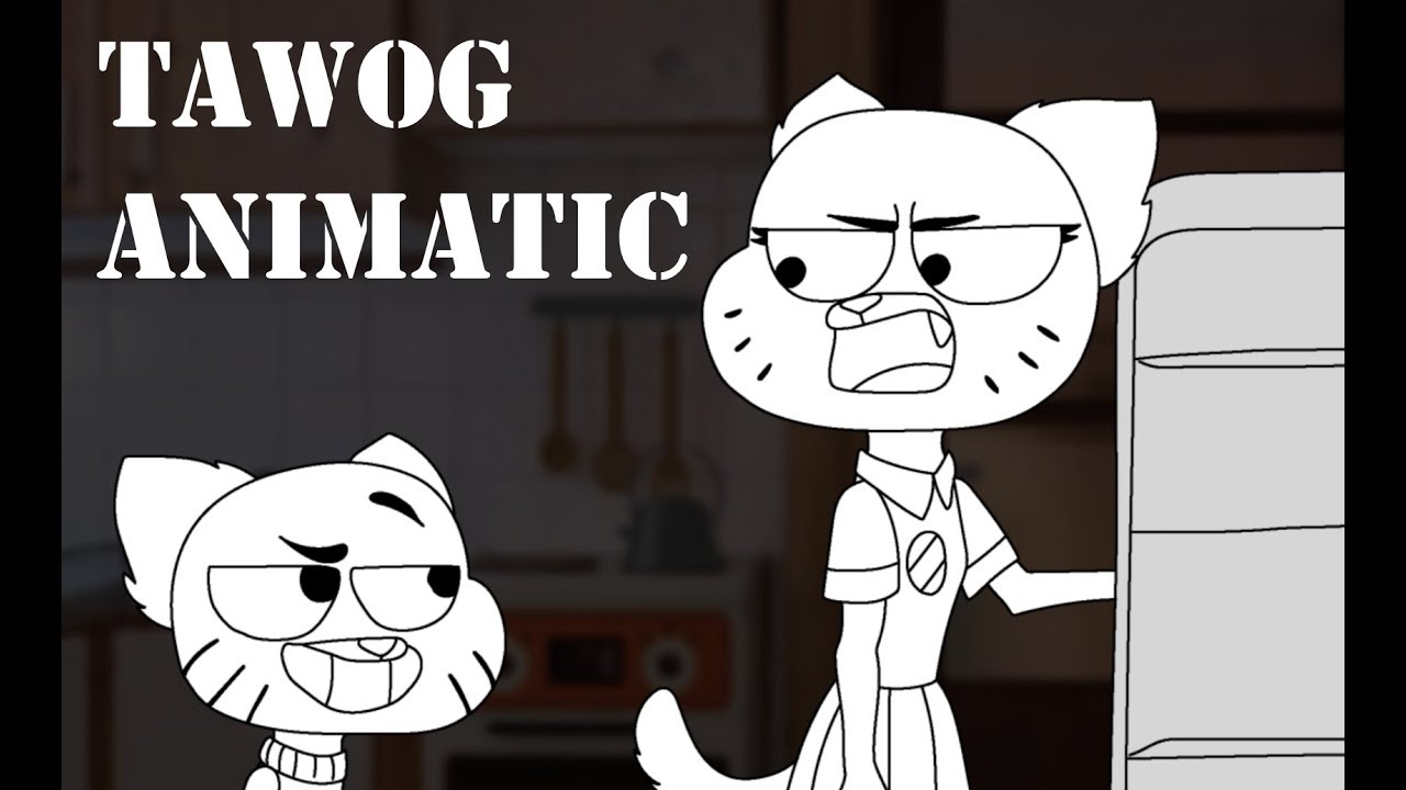 [TAWOG] Gumball 'pead' on the floor // ANIMATIC
