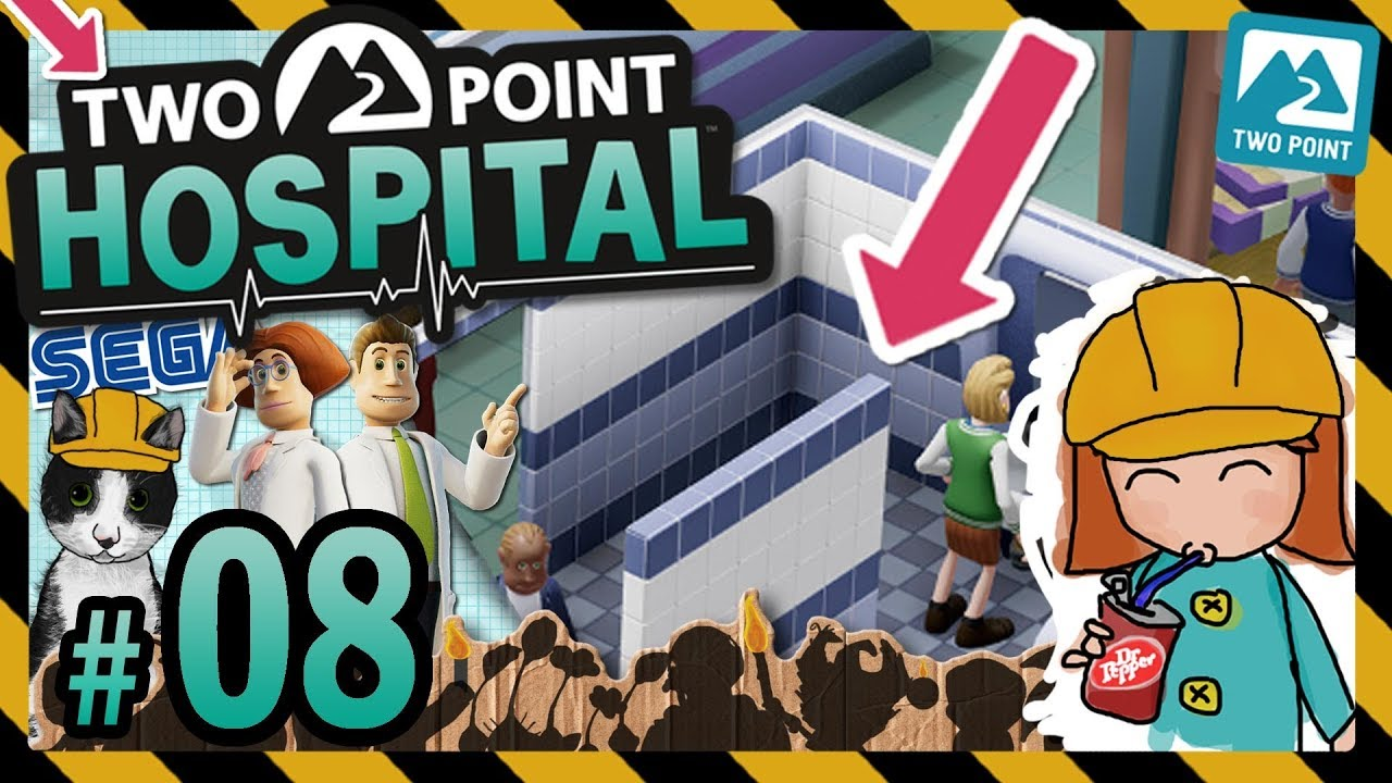 🚑 Two Point Hospital #8 - Fighting Queues with Logic (Lower Bullocks) (v0.9.17317)