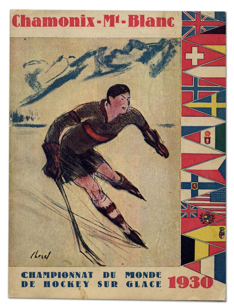 1930 World Championship Ice Hockey's poster