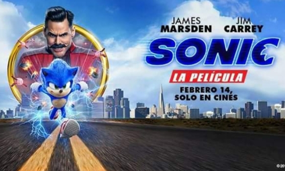 Hoy les traigo la Película de Sonic