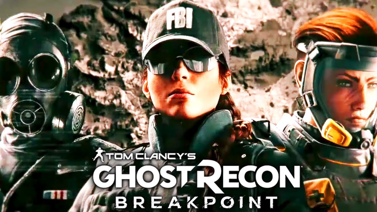 Ghost Recon Breakpoint Rainbow Six Crossover AMBER SKY All Cutscenes (Game Movie) 1080p