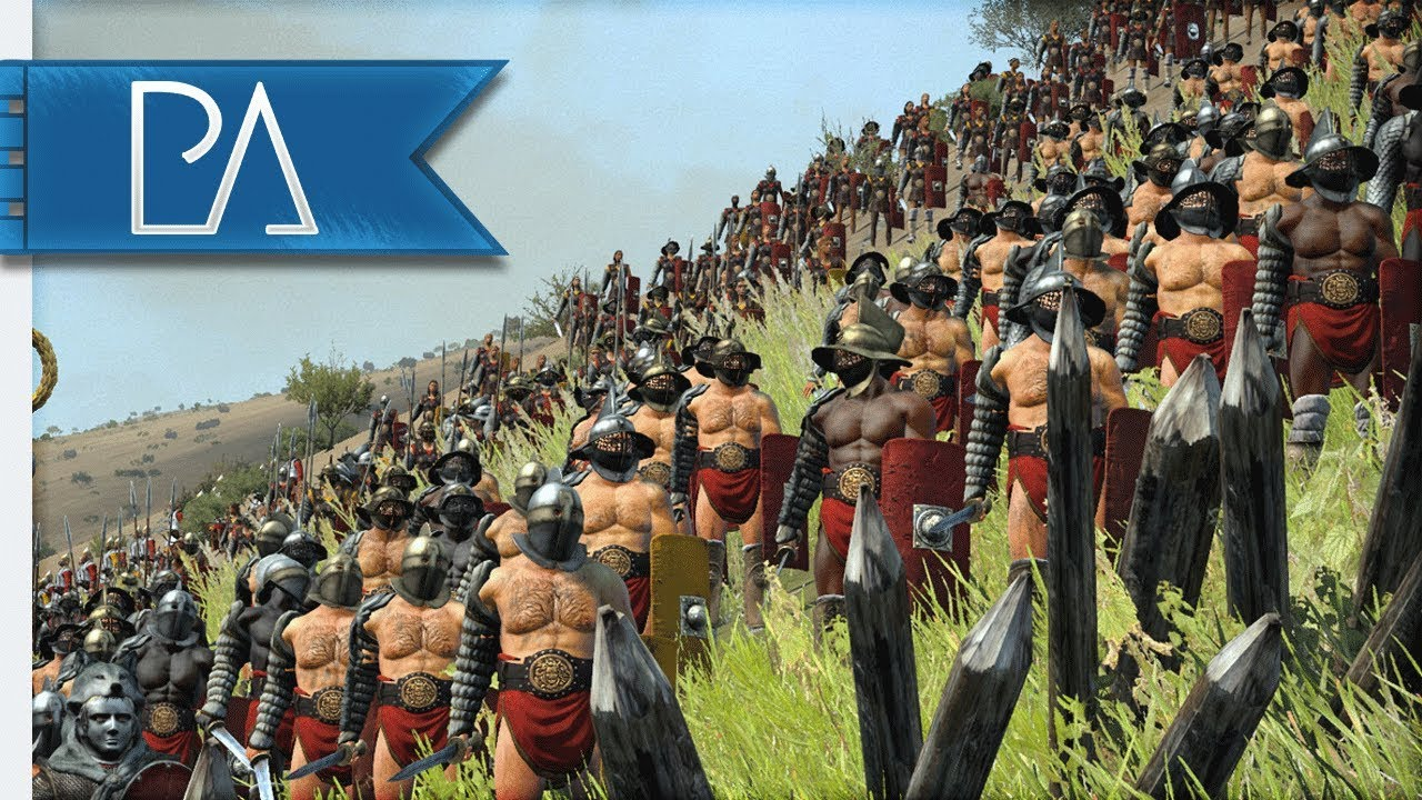 RISE OF SPARTACUS: GLADIATOR WARS! - Total War: Rome 2