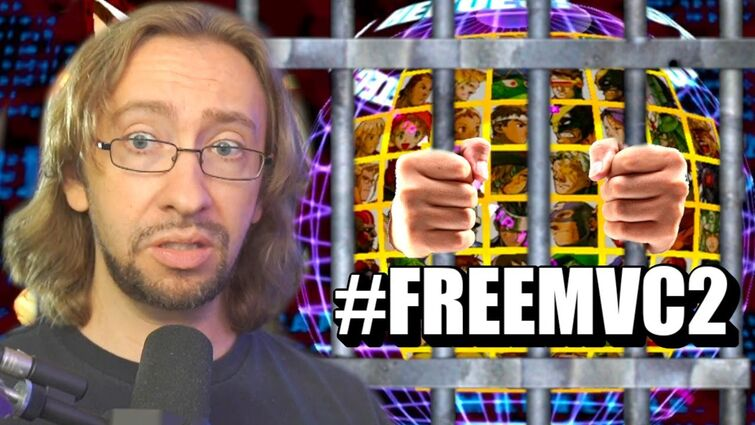 This Game Is In Jail #FreeMvC2
