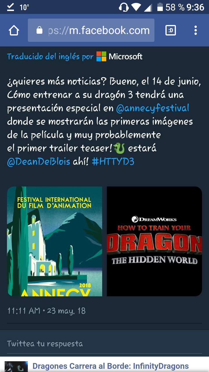 Al fin un teaser trailer