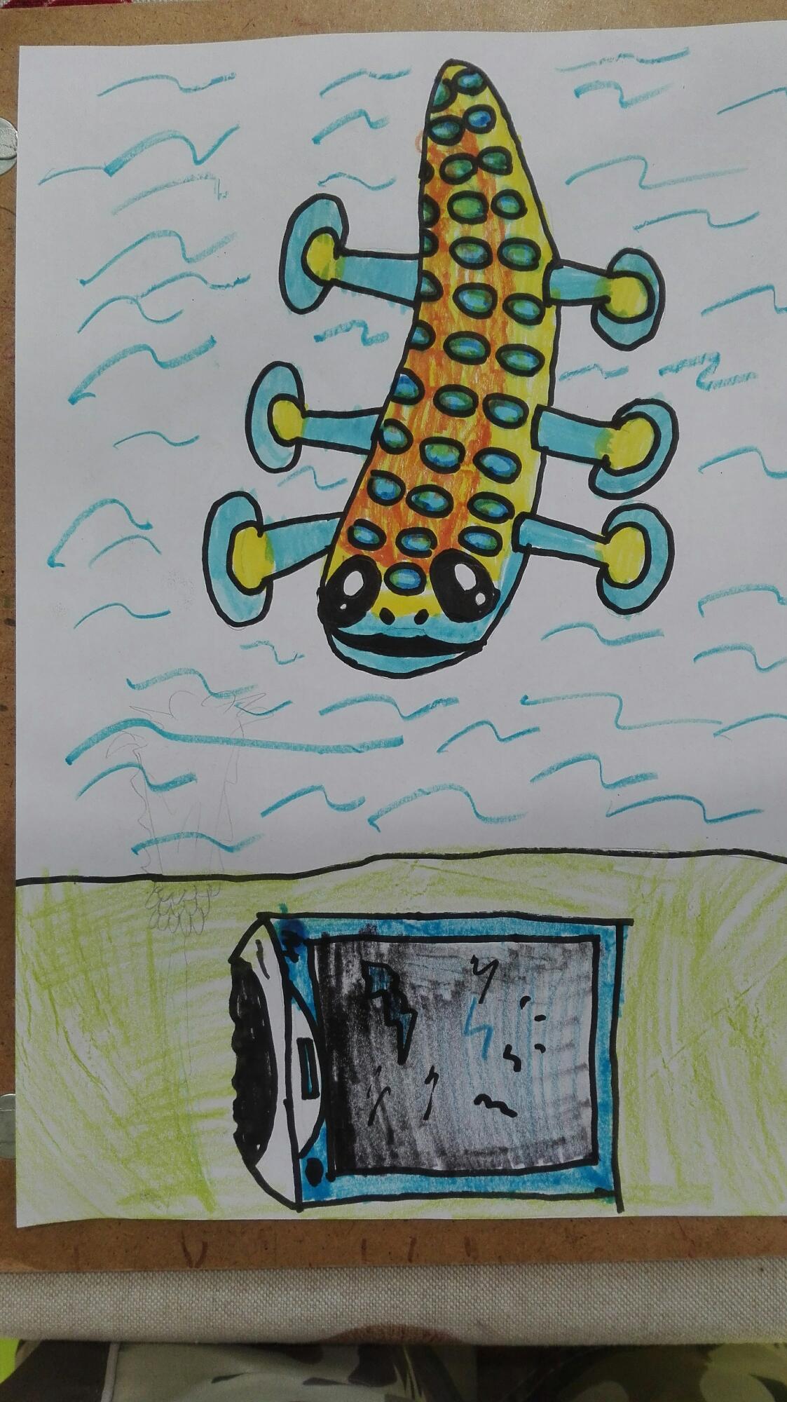 My hoverfish fanart