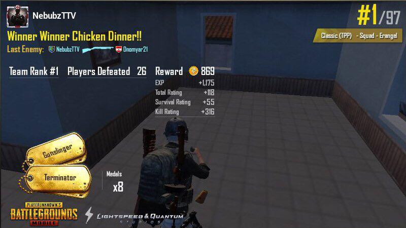 New record! 26 kill solo-squad