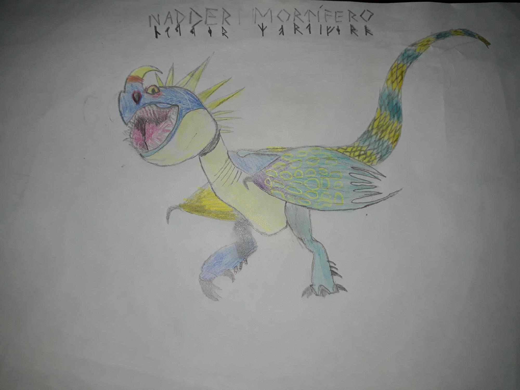 Dragon #6 (nadder mortifero)
