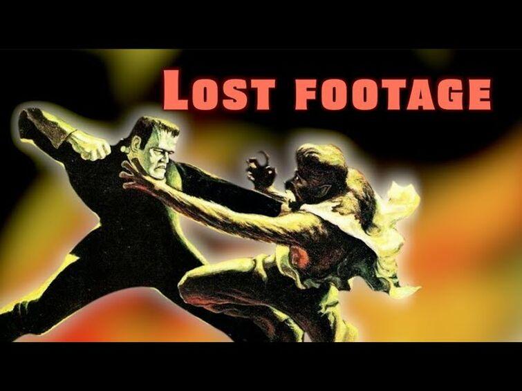 Frankenstein Meets the Wolf Man / Deleted Scenes #lostmedia