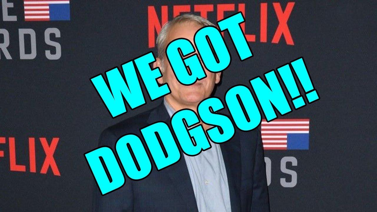 Lewis Dodgson is coming back! (Sort of)