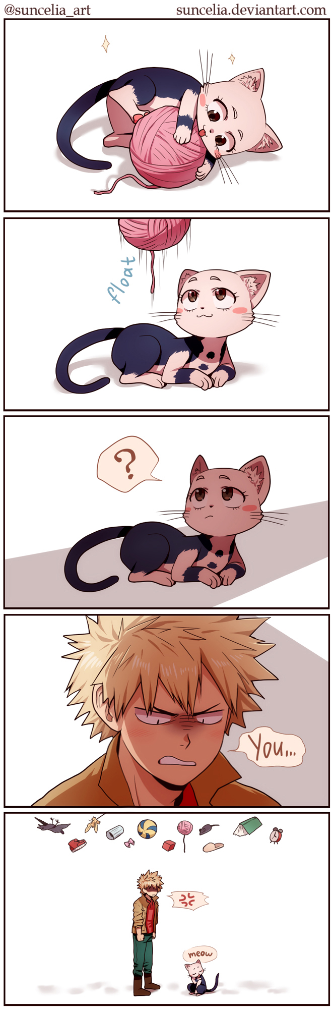 I found another bnha cats | FANDOM