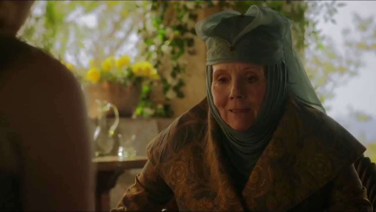 Game of Thrones (S03E04) - Lord Varys and Lady Olenna meets eachother.