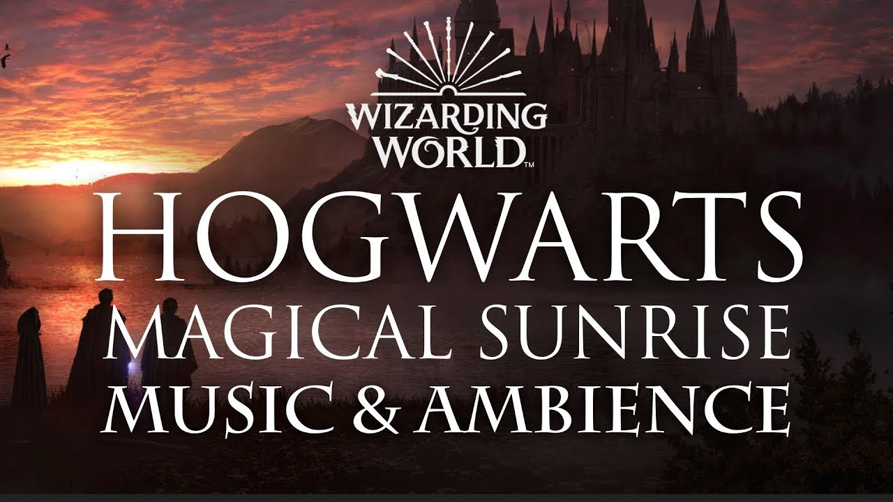 Harry Potter Music & Ambience | Magical Sunrise at Hogwarts