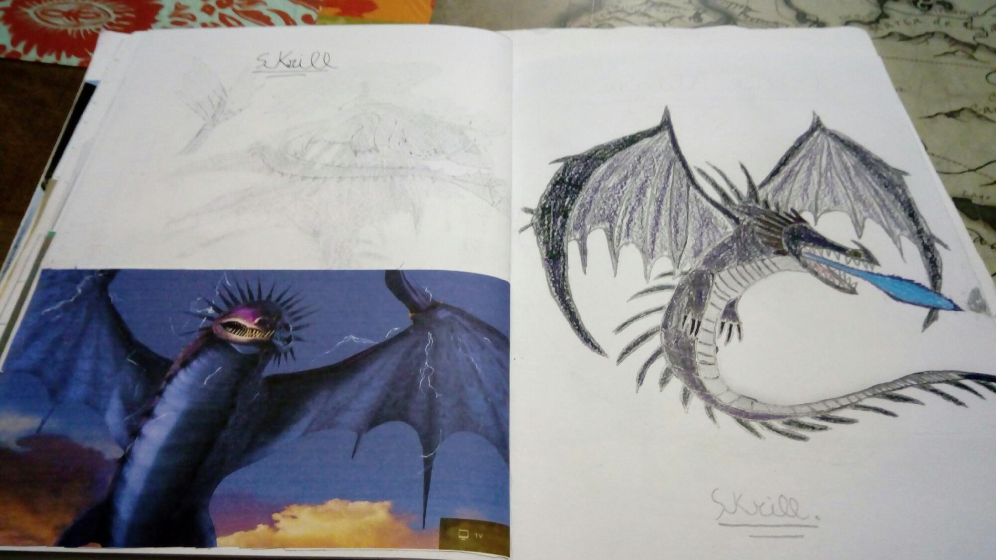 Hacer Libro de dragones