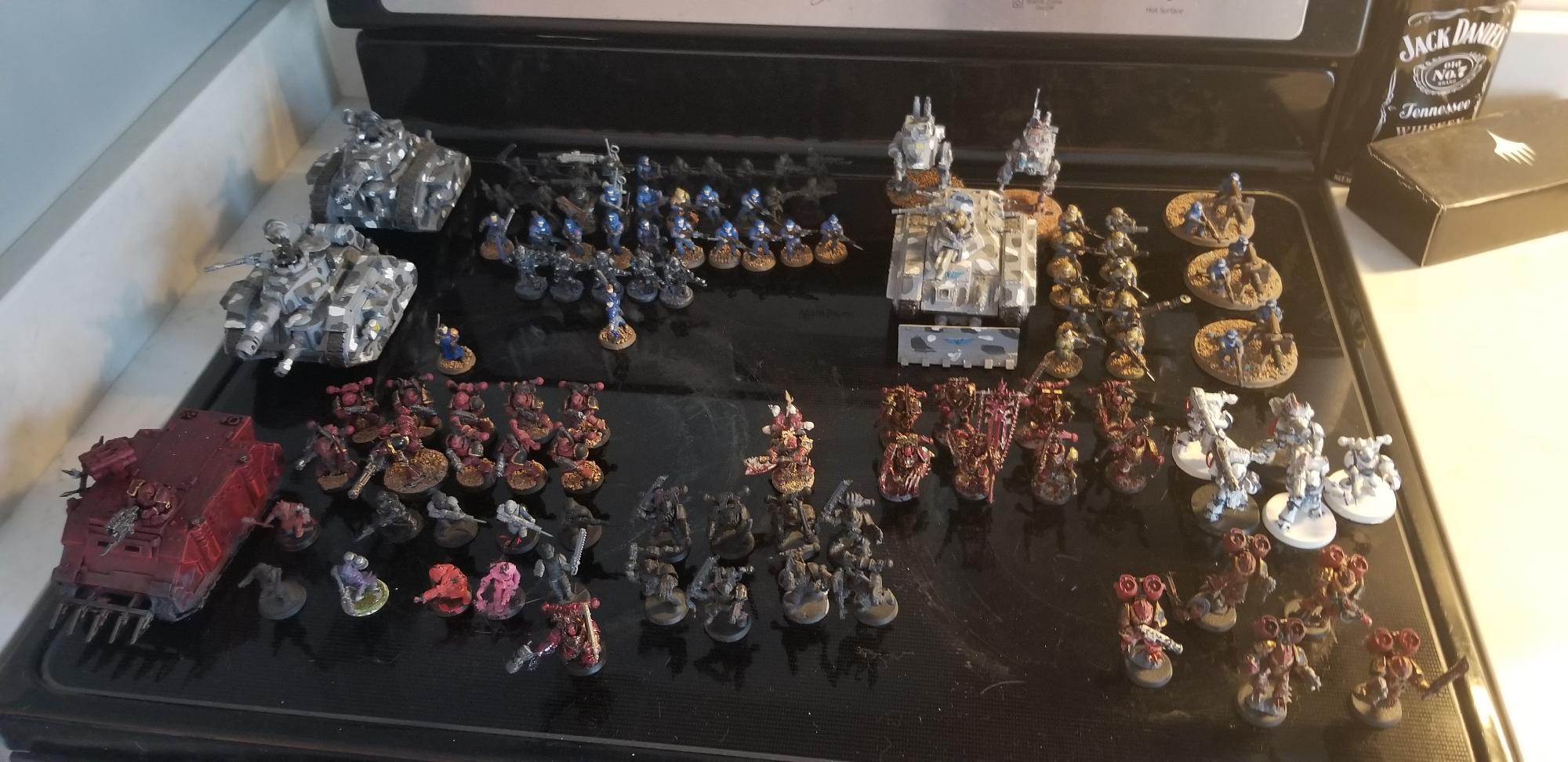 Starting of battle