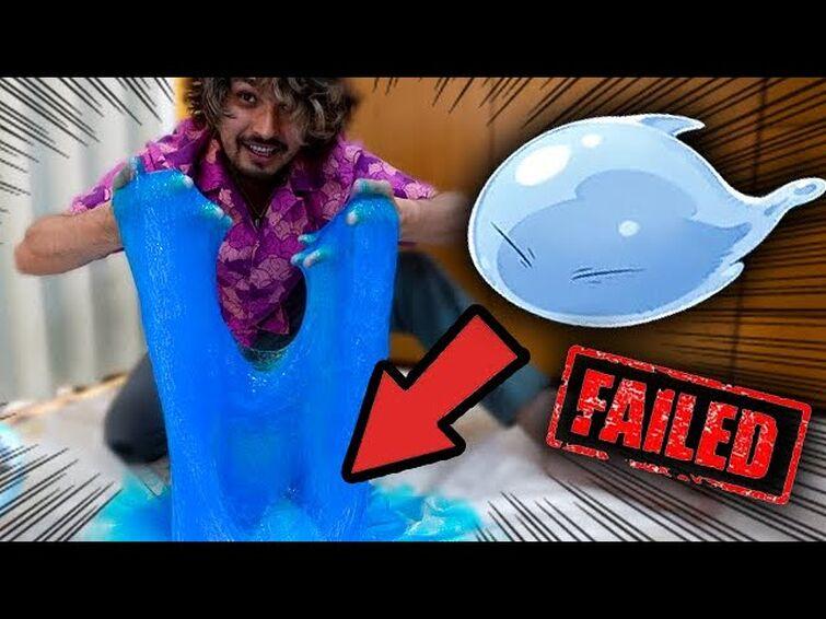 I Tried Recreating the Slime Isekai Anime and FAILED