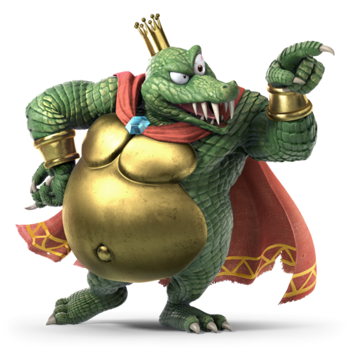 King k rool is the best heavyweight (in my opinion)