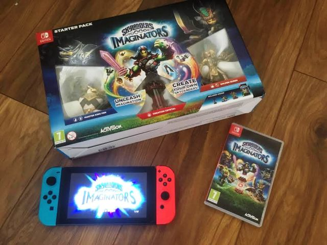 Skylanders Imaginator en Nintendo Switch...
