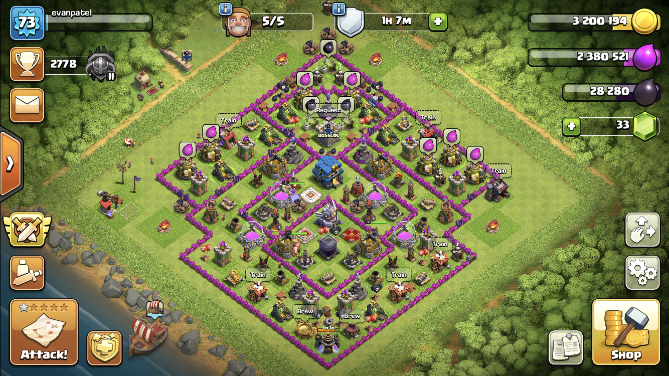 My friend rushed me to th 12 just for e drags and seige