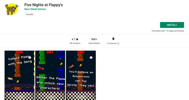 Fnaf Fan Game Creator