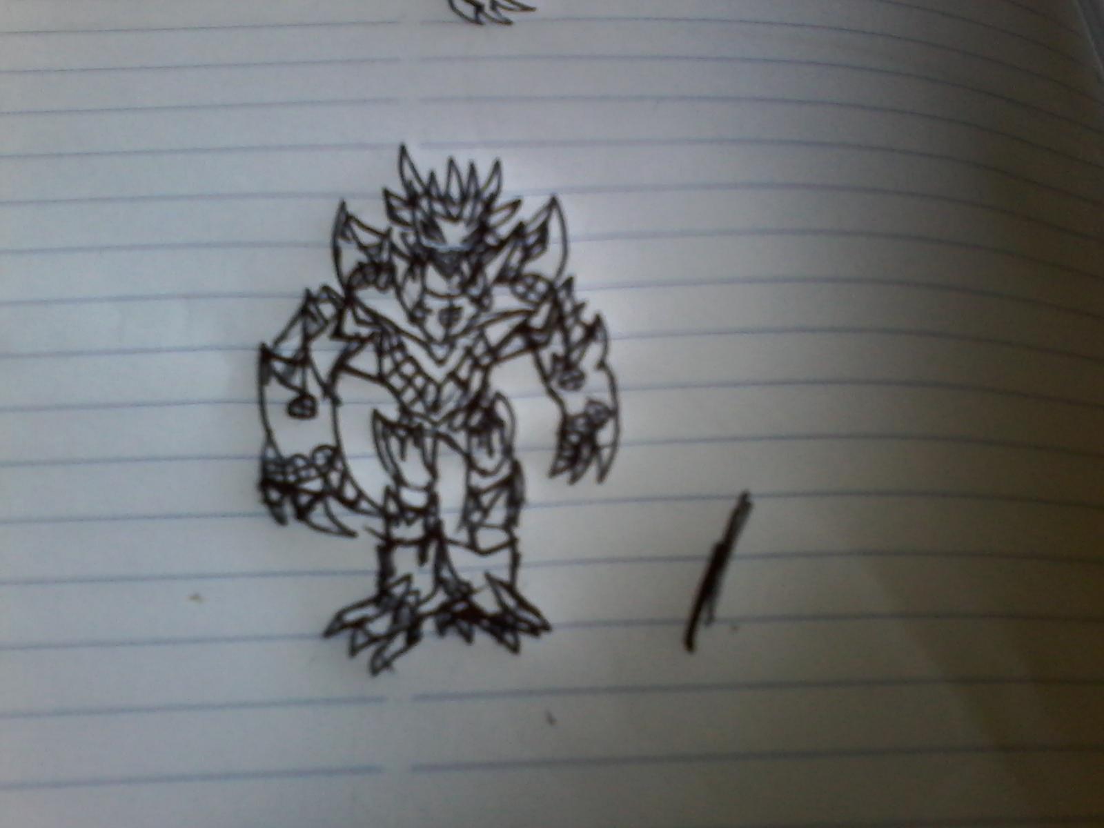 El nuevo monstruo villano mas poderosos de mi franquisia que sera