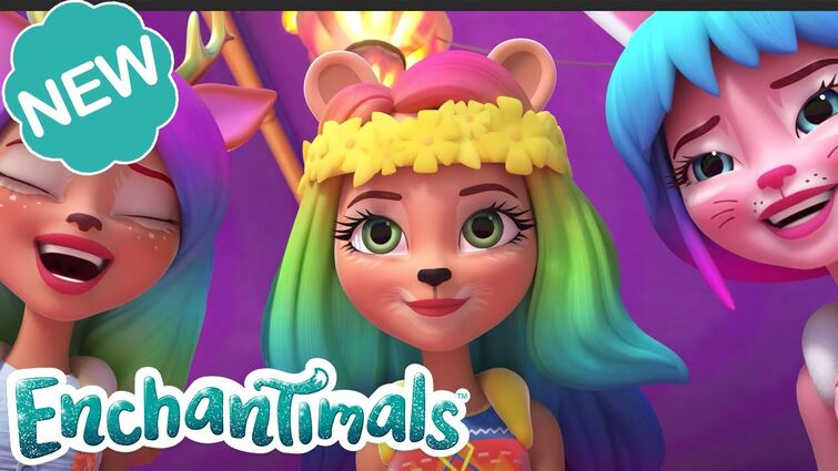 🌈 DIY RAINBOW HAIR FLAIR! 🎀 | Welcome to Sunny Savanna! Episode 5 | @Enchantimals