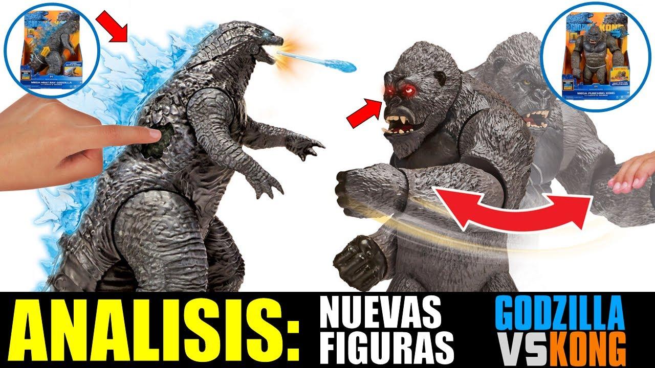Analizando: Nuevas Figuras Reveladas | Godzilla vs. Kong