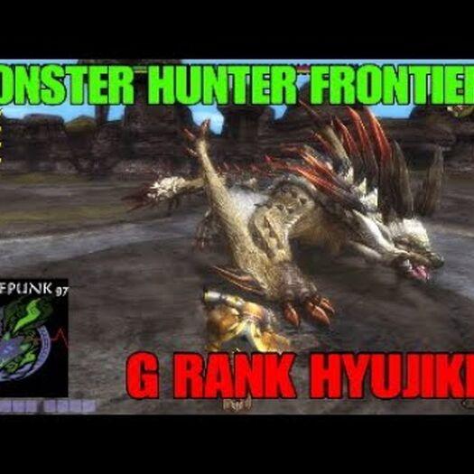 MHFZ: G-Rank Hyujikiki ( Swax F )