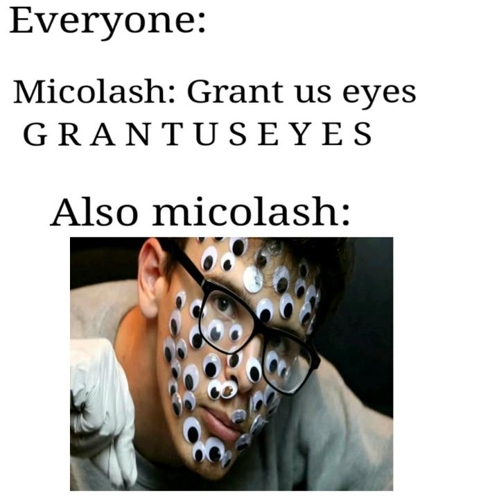 Ahhh micolash our cheeky antagonist