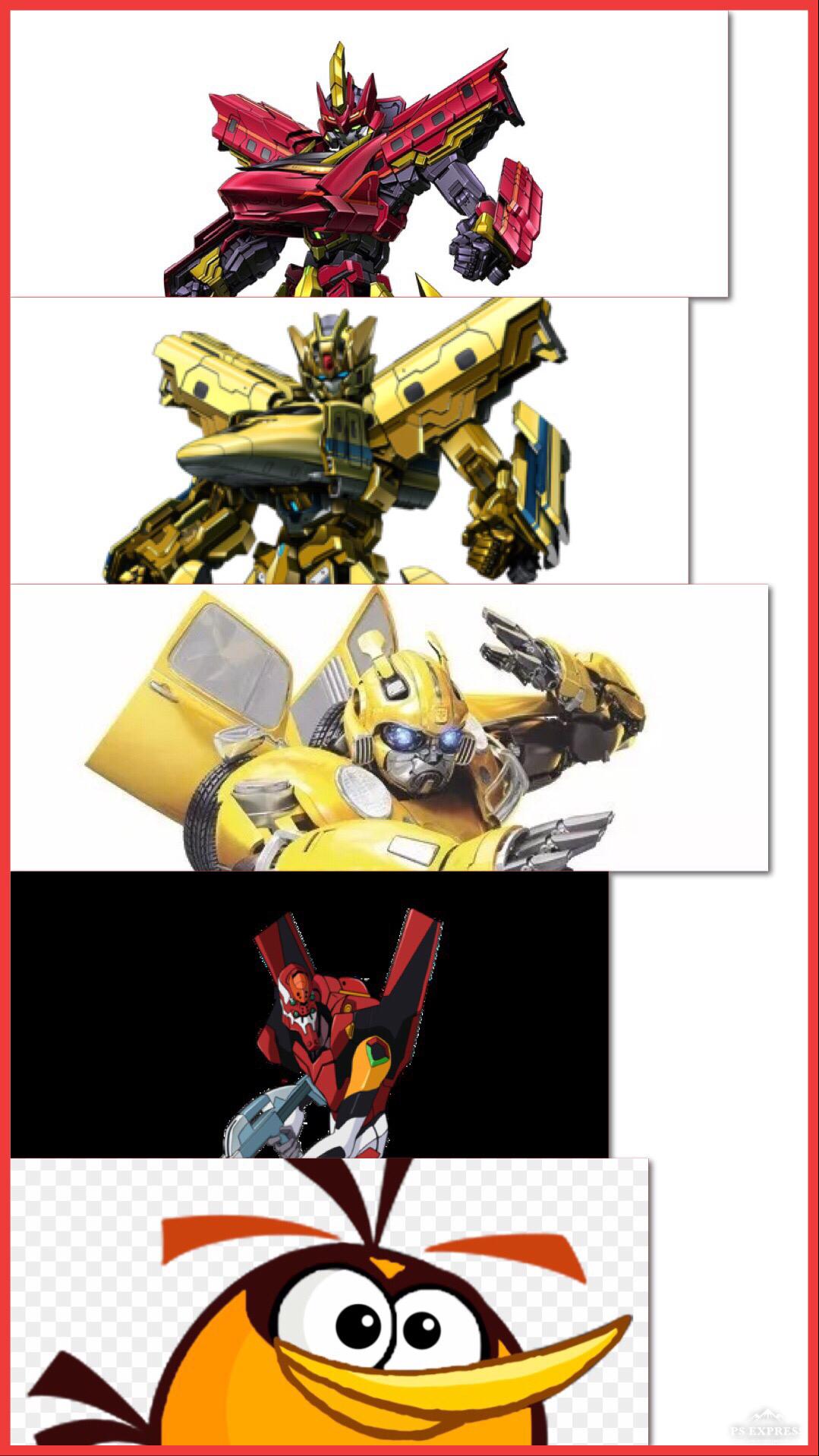Transformers & shinkalion