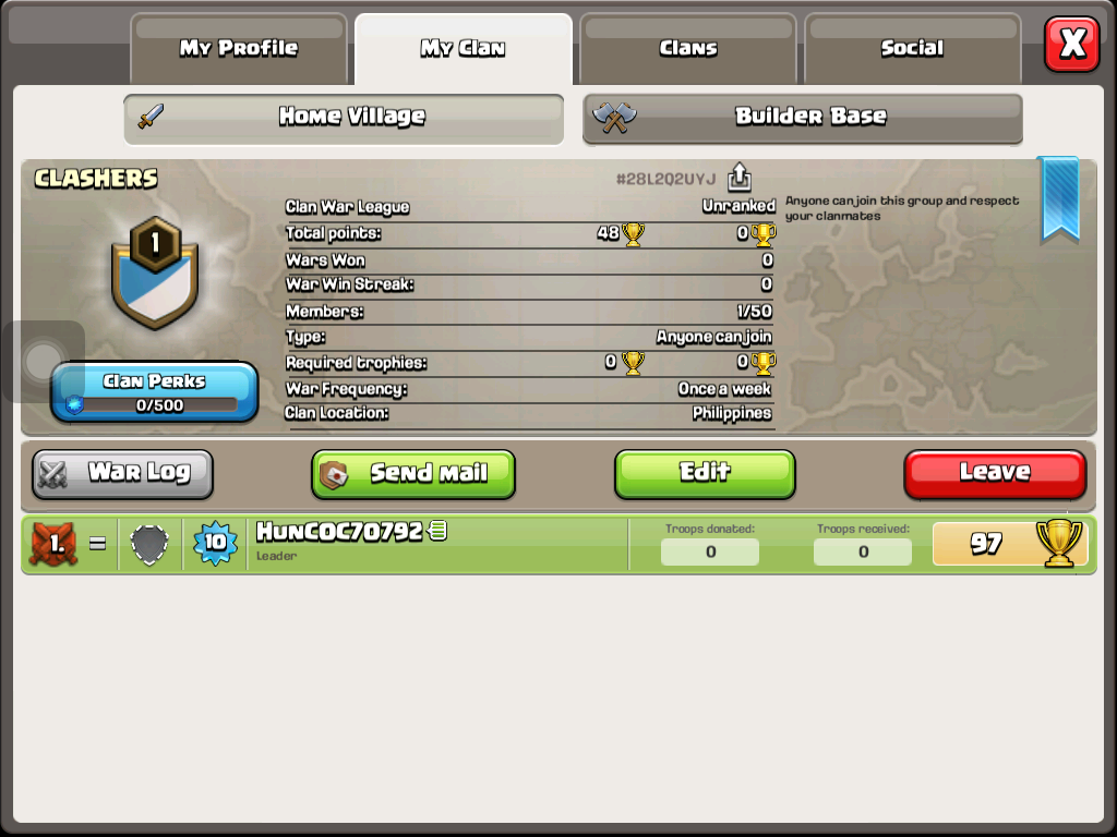 Need some members I'm still new and asking for reinforcements I always get attacked