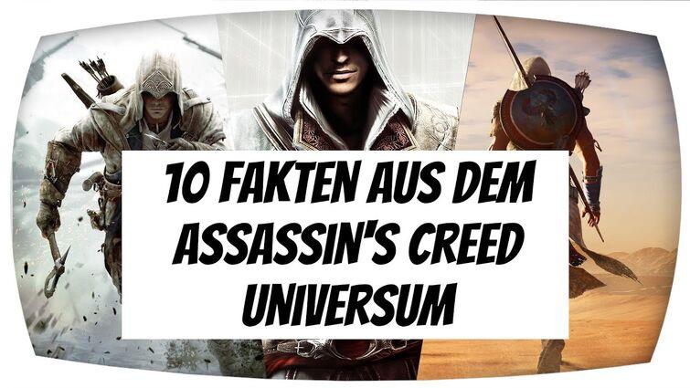 10 Fakten aus dem Assassin's Creed Universum