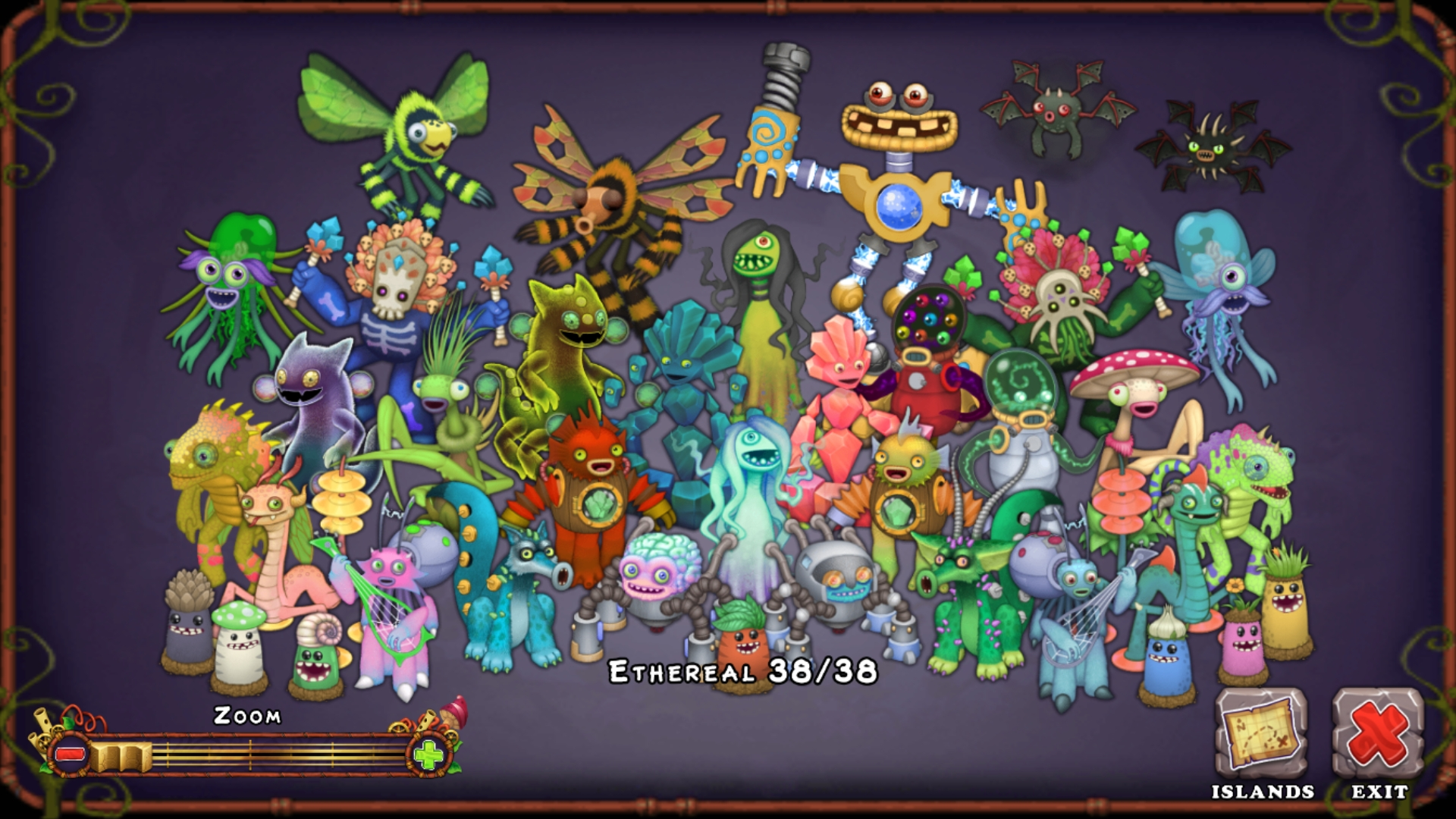 Complete Ethereal Island!
