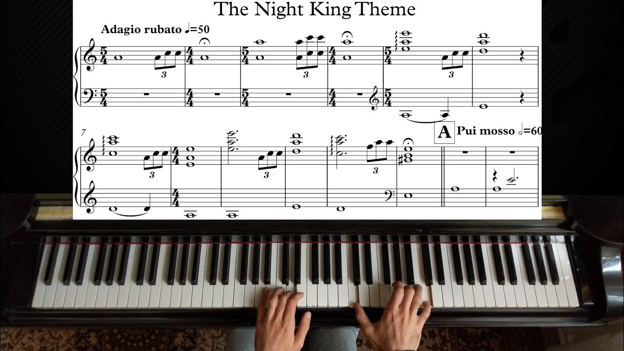 The Night King - Game of Thrones | Piano Tutorial (FULL with Sheet)