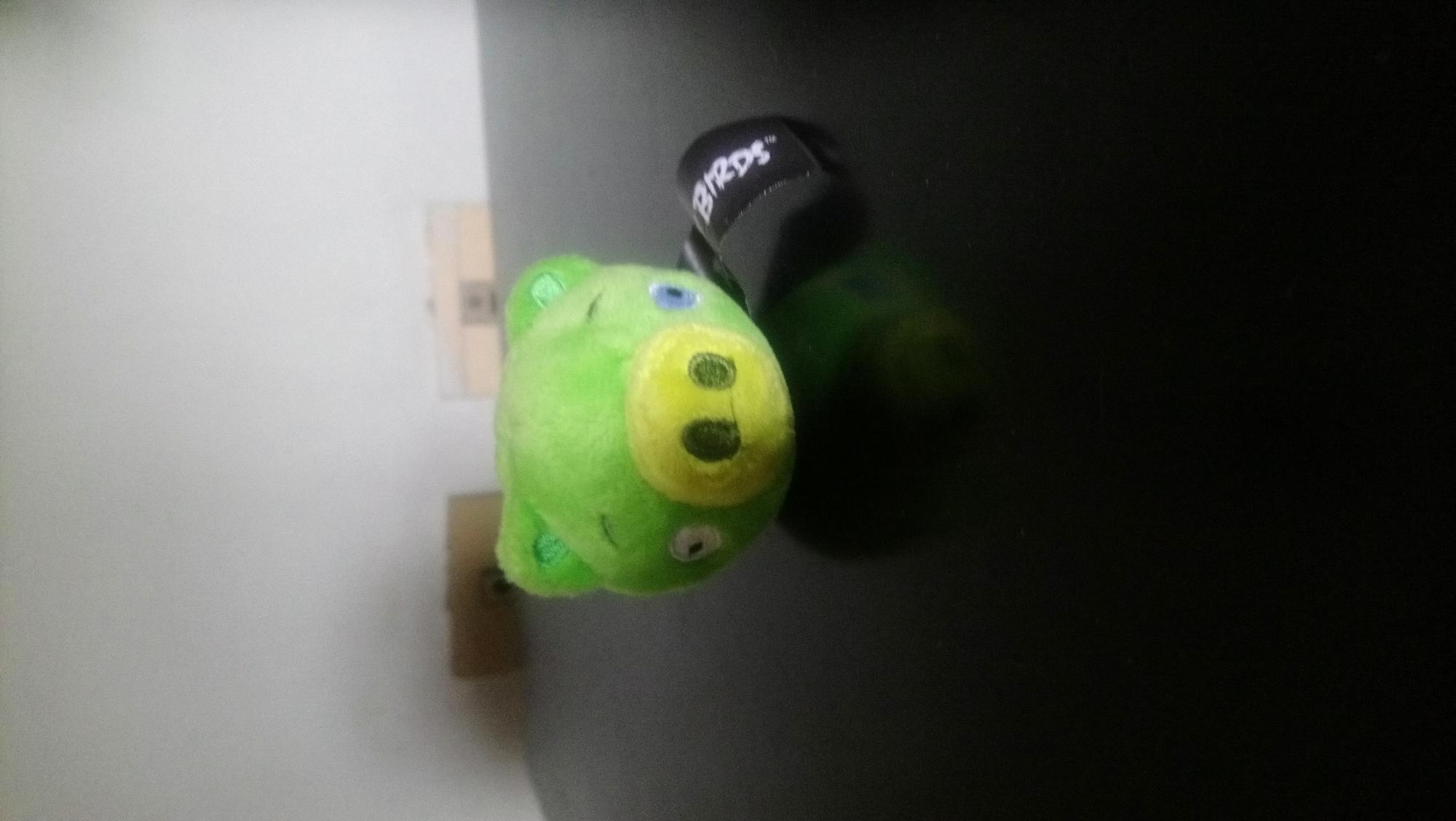 Miren a mi cerdito nuevo de Angry Birds