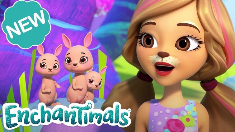 🏝 ENCHANTED POOL PARTY! 🌈 | Sunny Savanna Sparkle Spectacular Episode 2 | @Enchantimals