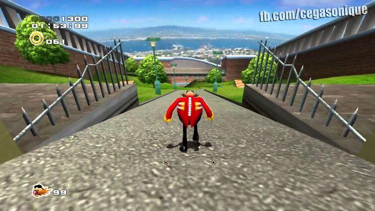 Eggman/Robotnik na City Escape (Sonic Adventure 2 HD)